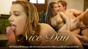 Nice Day starring Alexis Crystal & Thomas Lee