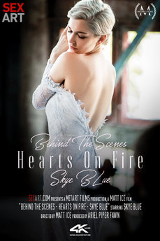 Behind The Scenes: Skye Blue - Hearts On Fire
