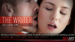 The Writer - She's leaving home starring Luna & Taylor Sands & Whitney Conroy & Franck Franco