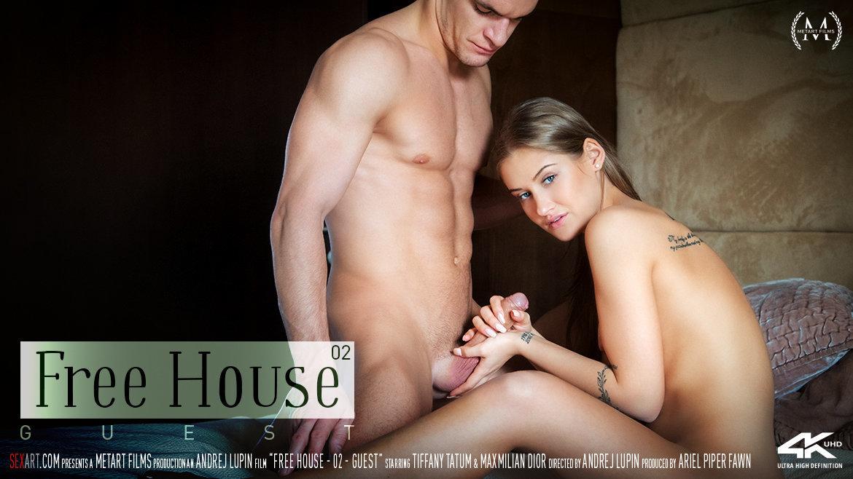 Sex Art - Tiffany Tatum & Maxmilian Dior - Free House Episode 2 - Guest