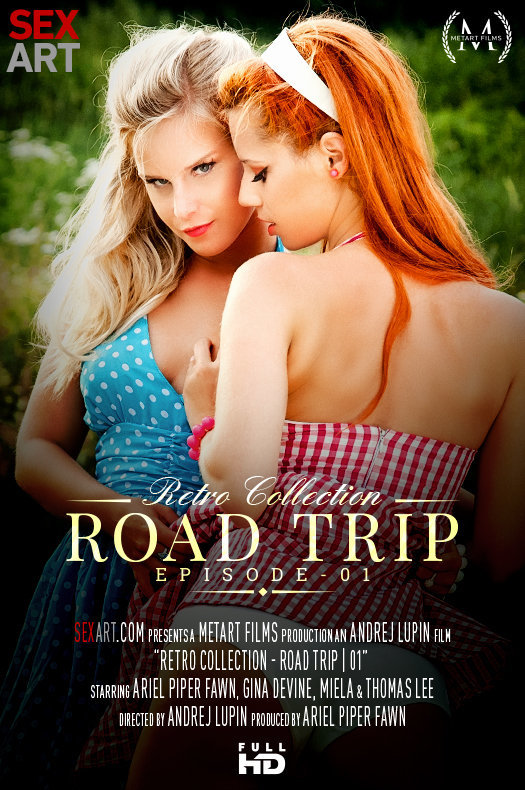 The Retro Collection - Road Trip Episode 1 featuring Ariel Piper Fawn & Miela A by Andrej Lupin