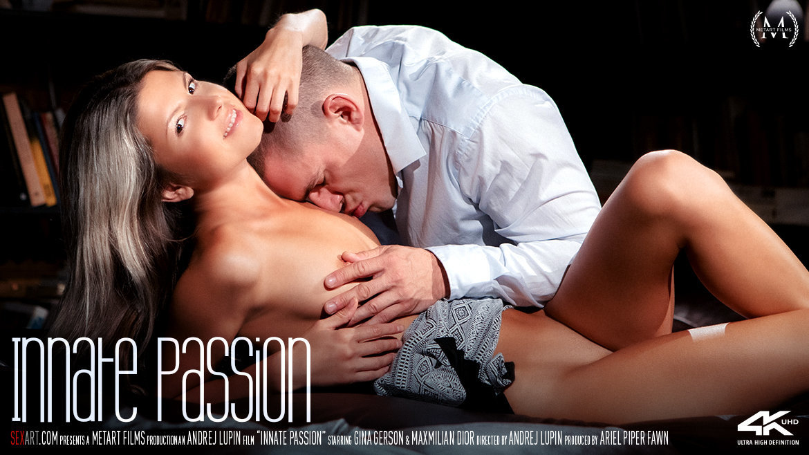 Sex Art - Gina Gerson & Maxmilian Dior - Innate Passion