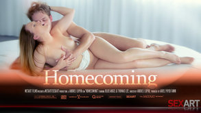 SexArt Homecoming Blue Angel & Thomas Lee