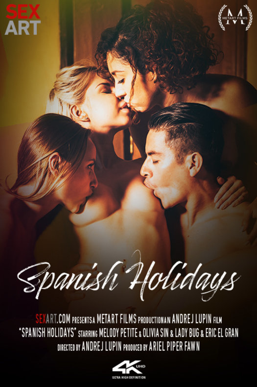 Spanish Holidays featuring Lady Bug & Melody Petite & Olivia Sin & Eric El Gran by Andrej Lupin