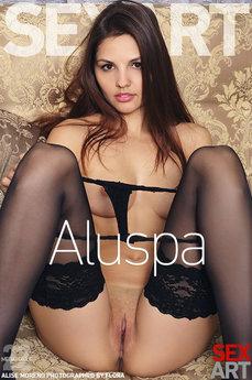 SexArt - Alise Moreno - Aluspa by Flora