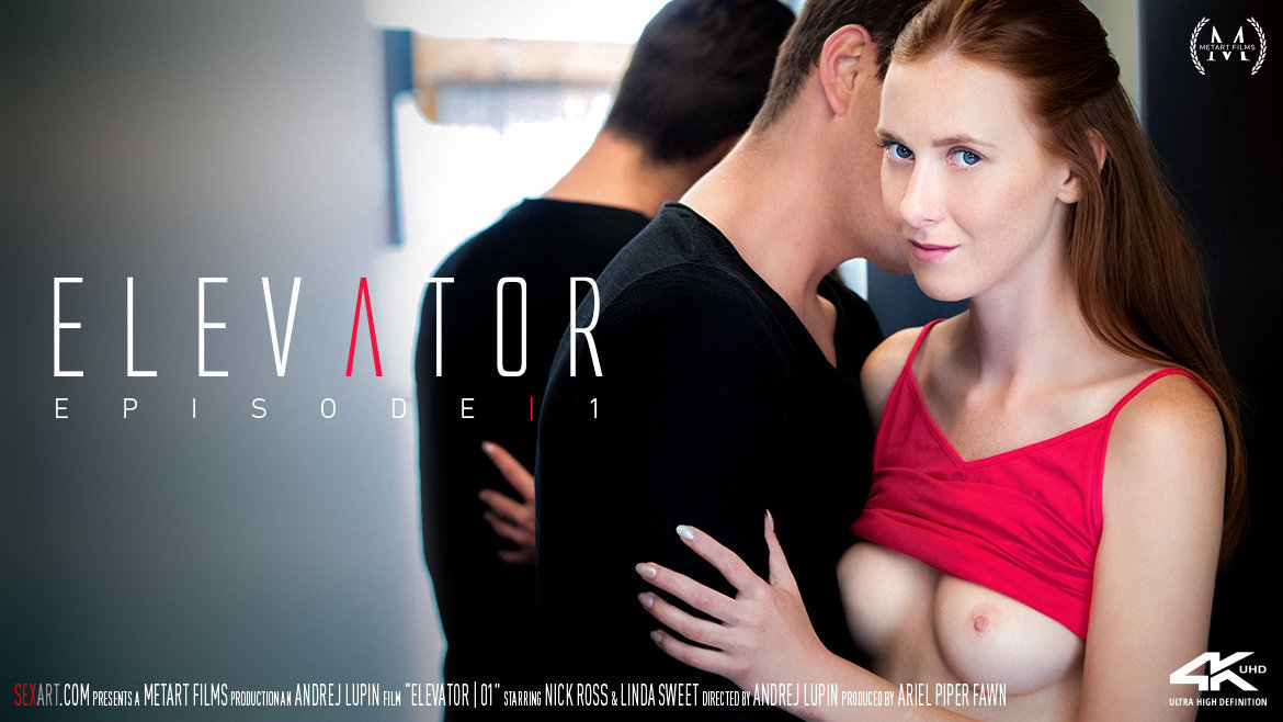 Sex Art - Linda Sweet & Nick Ross - Elevator Part 1