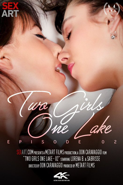 Two Girls One Lake 2 featuring Lorena B & Sabrisse A by Don Caravaggio