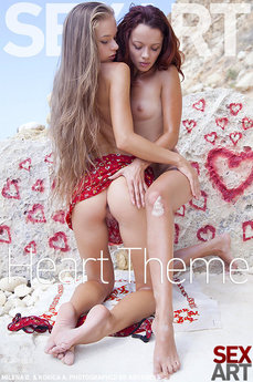 Heart theme Heart Theme featuring Korica A & Milena D by Antares.