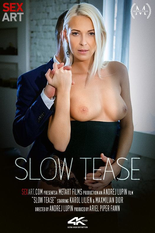 Slow Tease featuring Karol Lilien & Maxmilian Dior by Andrej Lupin