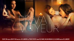 SexArt Private Voyeur Elle Alexandra & Malena Morgan & Rilee Marks