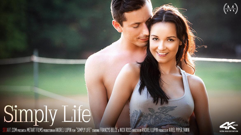 Sex Art - Francys Belle & Nick Ross - Simply Life