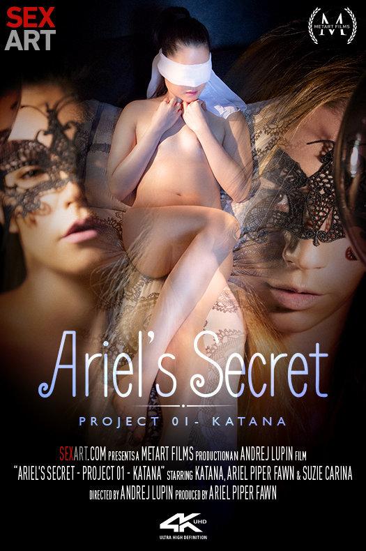 Ariel's Secret - Project 1 Katana featuring Ariel Piper Fawn & Katana & Suzie Carina by Andrej Lupin