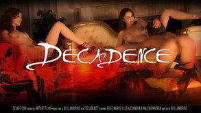 SexArt Decadence Elle Alexandra & Malena Morgan & Rilee Marks