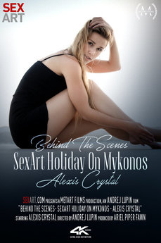 Behind The Scenes: SexArt Holiday On Mykonos - Alexis Crystal