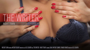 The Writer - Night Train starring Luna & Whitney Conroy & Franck Franco