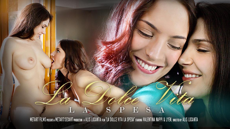 La Dolce Vita   La Spesa   Lyen & Valentina Nappi for SexArt