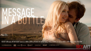 SexArt Message In A Bottle Ariel Piper Fawn & Mima A & Thomas Lee