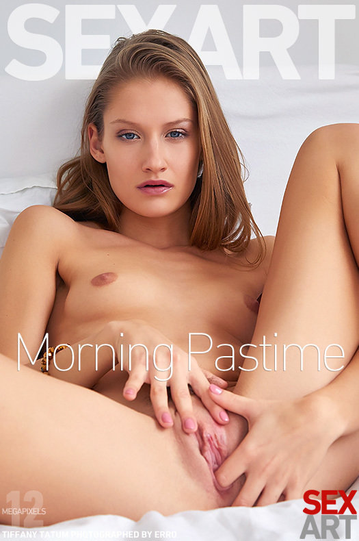 Morning Pastime featuring Tiffany Tatum by Erro