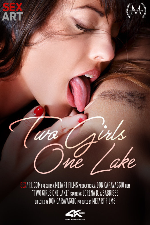 Two Girls One Lake featuring Lorena B & Sabrisse A by Don Caravaggio