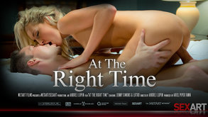 At The Right Time starring Jenny Simons & Lutro