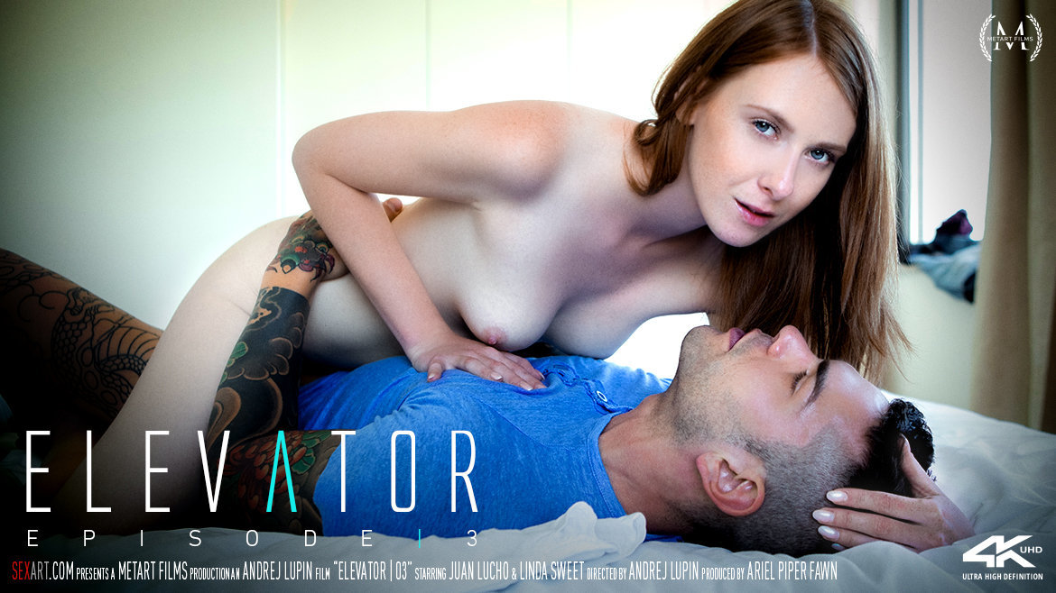 Sex Art - Linda Sweet & Juan Lucho - Elevator Part 3