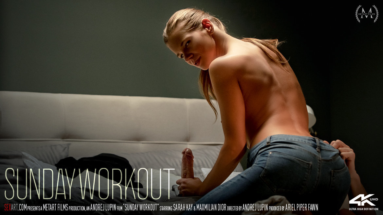 SexArt – Sunday Workout with Sarah Kay and Maxmilian Dior