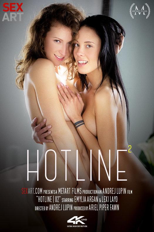 Hotline 2 featuring Emylia Argan & Lexi Layo by Andrej Lupin