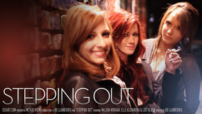 Stepping Out starring Elle Alexandra & Lexi Bloom & Malena Morgan