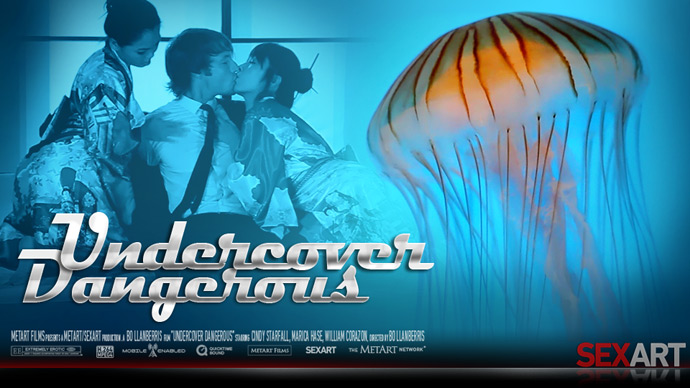 Undercover Dangerous Starring Cindy Starfall, Marica Hase & William Corazon