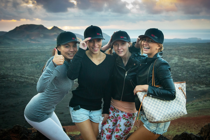 group sexart - If you're wondering what SexArt superstar Tracy Lindsay has been getting up  to lately, wonder no more. Here she is in Timanfaya National Park,  Lanzarote, ...